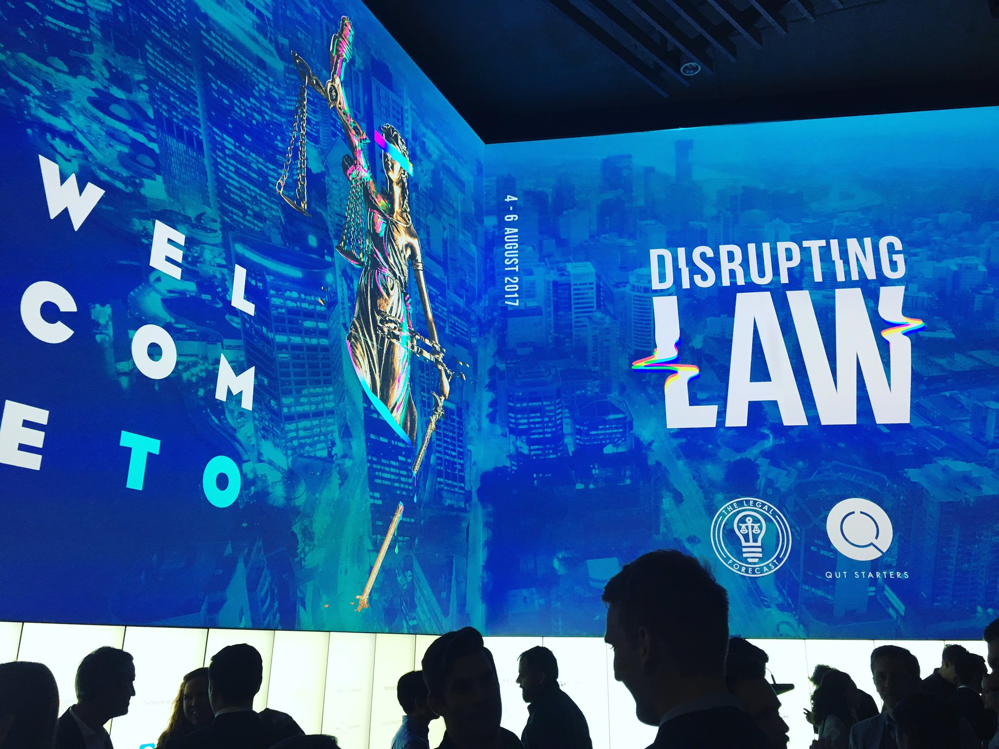 It's Brydon @BuildTechLaw & Sidney - live from the #DisruptingLaw #Hackathon -chuffed to be a part of the next gen #legaltech #auslaw https://t.co/CxikTjzTFW
