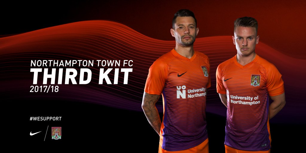 Introducing our new third kit for the 2017/18 season. On sale in store from 10am and online https://t.co/VdIf26iW7k https://t.co/w2uMspPzee