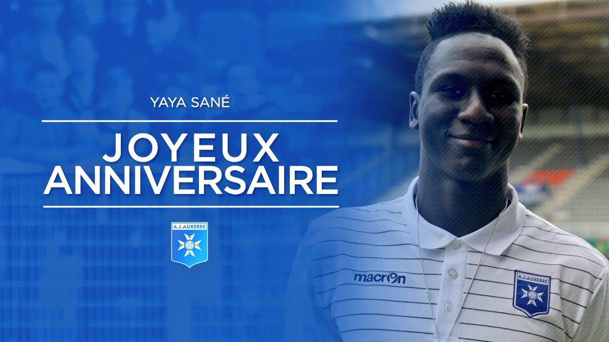 Aj Auxerre On Twitter Joyeux Anniversaire Yaya Sané