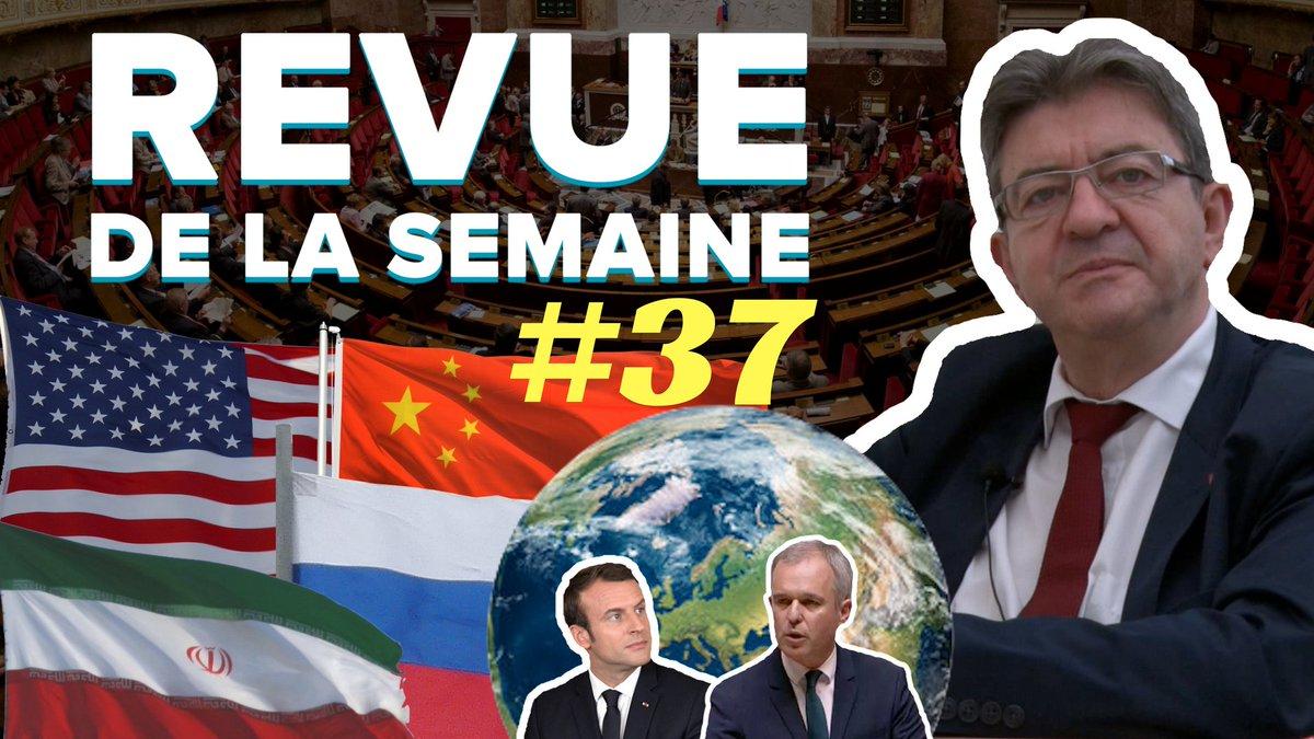 #RDLS37 en ligne ! Thèmes : dette écologique, USA, Russie, Iran, Chine, Europe, Moralisation, Macron, de Rugy.  ➡️https://t.co/1ogQ6LrPd0