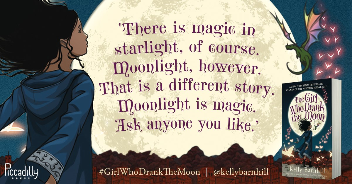 Image result for The Girl Who Drank the Moon by Kelly Barnhill