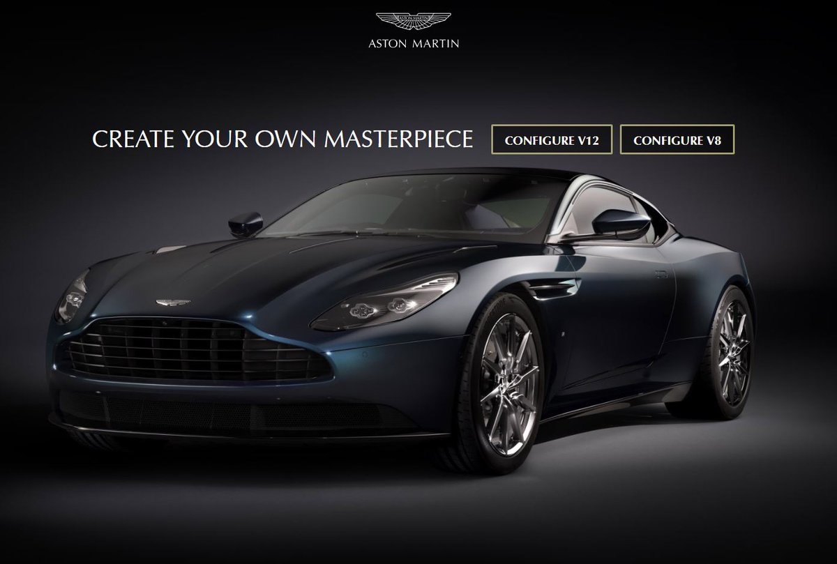 "aston martin on twitter: ""create your own masterpiece using our"