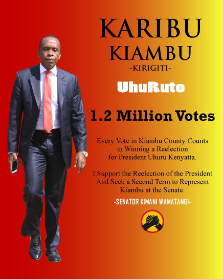 #KaziIendelee #UhuRutoTanoTena #KiambuNiJubilee #WamatangiTanoTena #UhuRutoInKiambu Delivering 1.2Million votes intact!<br>http://pic.twitter.com/UiqeigZm03