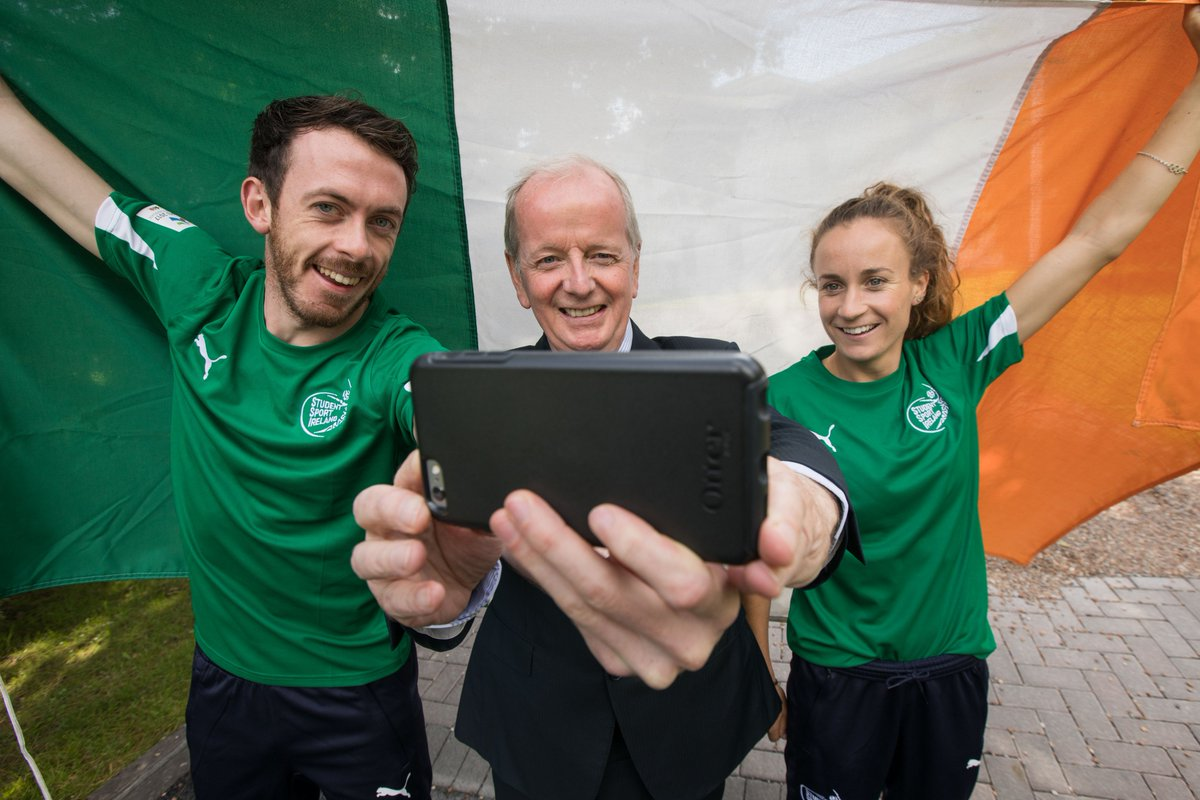 Best of luck to UL students @M_Finners and @pbyrne4H as they travel to the #WorldUniversityGames in Taiwan. #ThinkBigatUL <br>http://pic.twitter.com/osFHd3pKPf