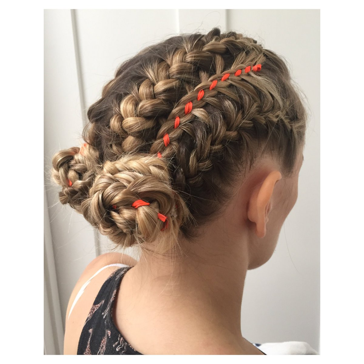 Joel Benjamin On Twitter French Braids With Feathered Accents