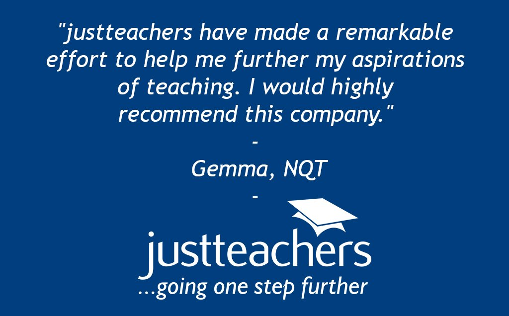 "test Twitter Media - ""justteachers have made a remarkable effort to help me further my aspirations of teaching."" - Gemma, NQT. https://t.co/5hhNwEnul4"