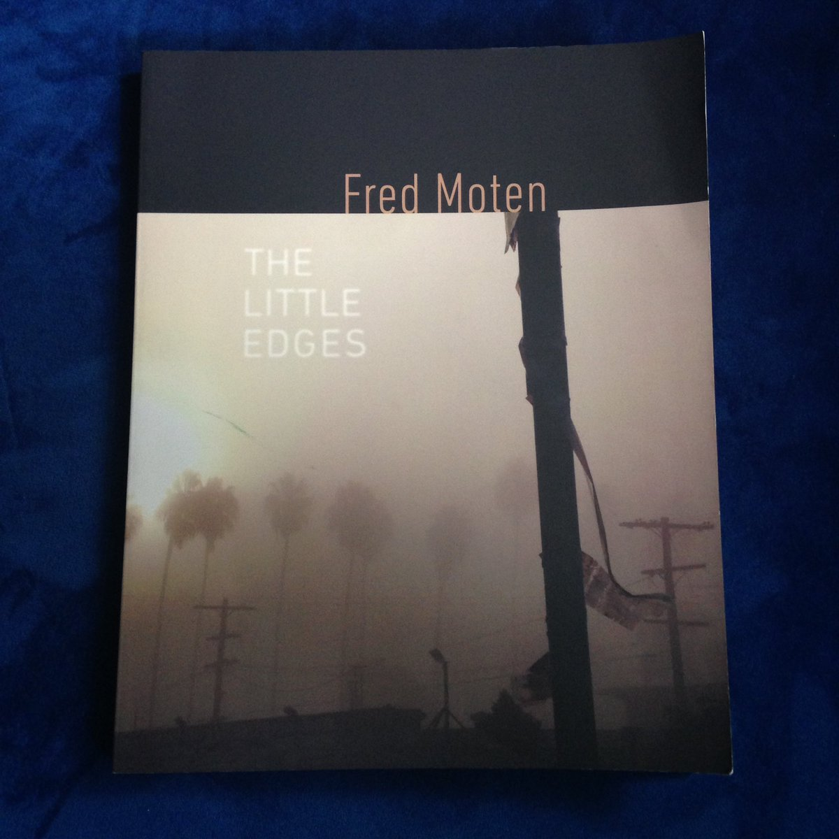 test Twitter Media - RT @AmorousShepherd: THE LITTLE EDGES by Fred Moten, @weslpress #TheSealeyChallenge @Nic_Sealey https://t.co/w8q0qUaOXN