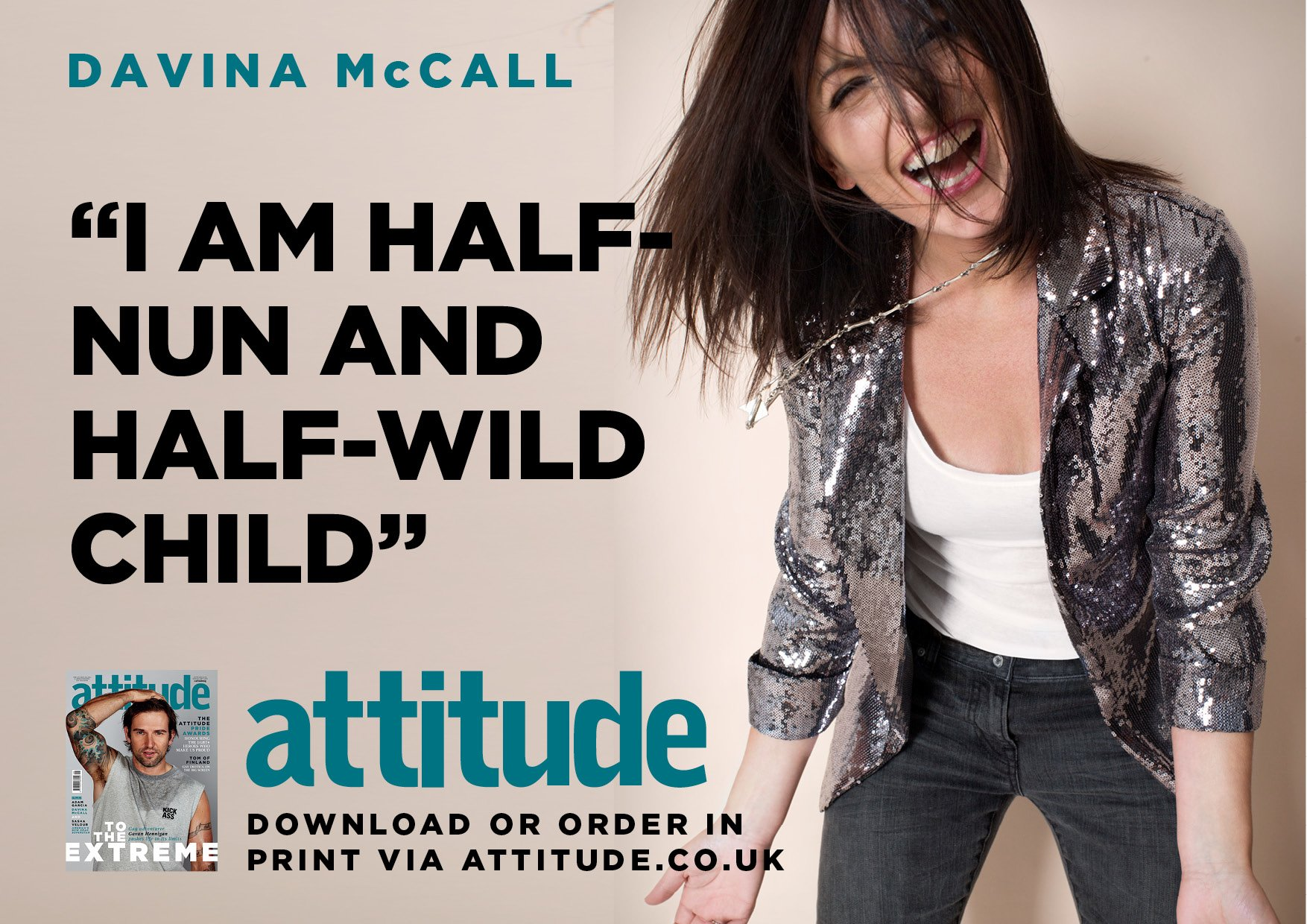 RT @AttitudeMag: We love @ThisisDavina, and we've got her in our August issue. Get it here: https://t.co/XjyW7m7AkJ https://t.co/LRZs5JCjI8