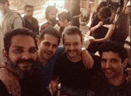 Friends are the most important ingredient in this recipe of life. #HappyFriendshipDay @FarOutAkhtar @abheetg @rocstah https://t.co/fj8SzCaKSo