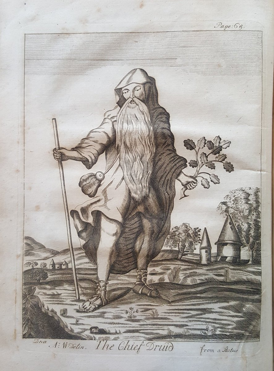 We've blogged about Druid illustrations in Mona Antiqua Restaurata in honour of the @eisteddfod in Anglesey  https://museum.wales/blog/2017-08-04/Mona-Antiqua-Restaurata-by-Henry-Rowlands/…