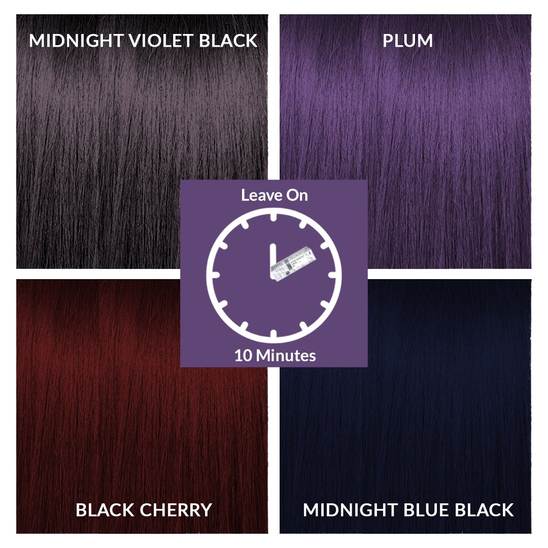 Ion Black Cherry Demi Black Cherry Bomb Hair Color The Complete