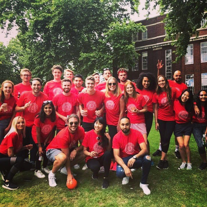 Team OMD representing at #FBgameday! 🏅🏆🎖 https://t.co/5JdSkfcMwc
