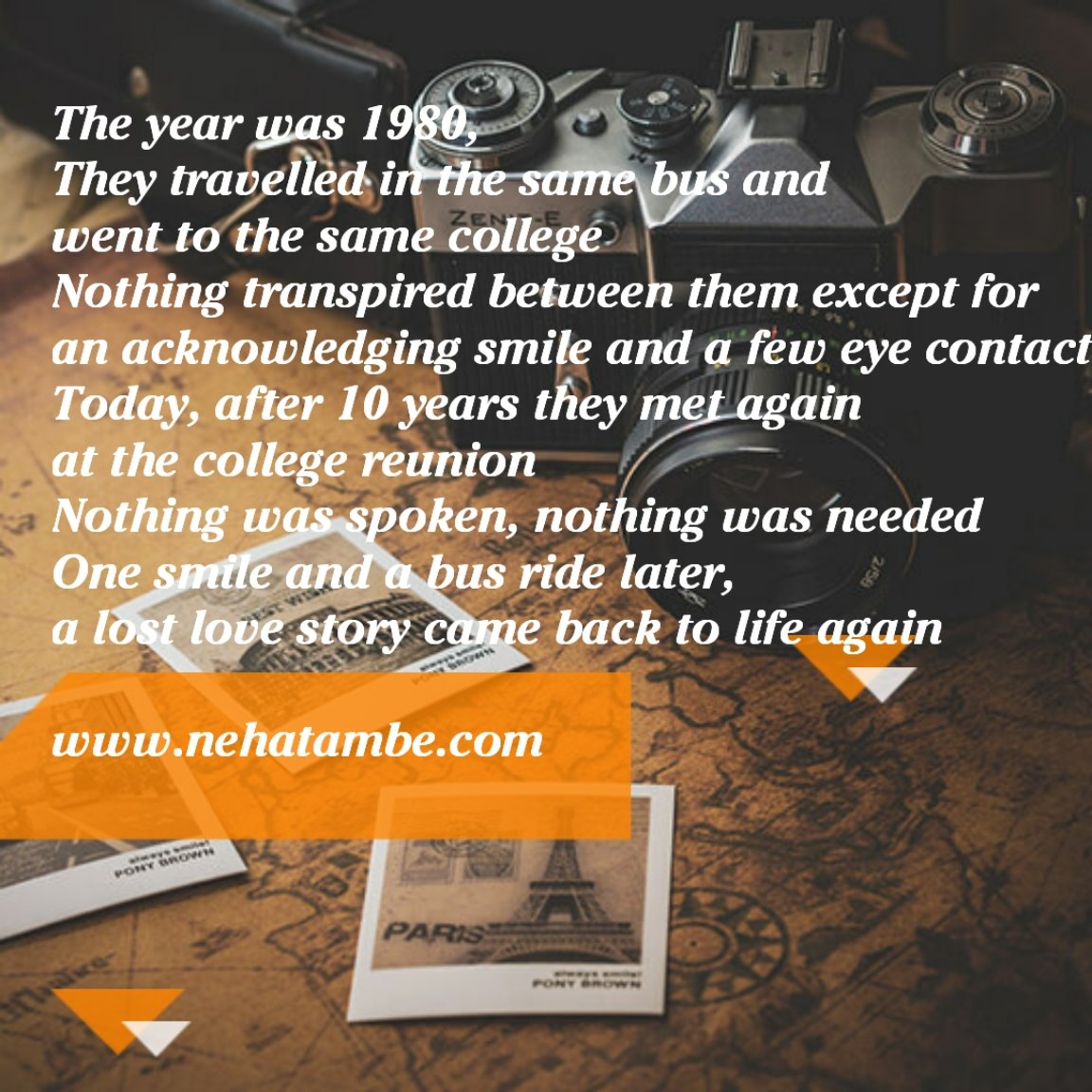 #Tiniature #TGITF #Travel #LoveStory #iamwriting #BeingAuthor #TinyStory #tinystories #microstories #tinytales #amwriting #Blogchatter https://t.co/e8XKSZKkYU