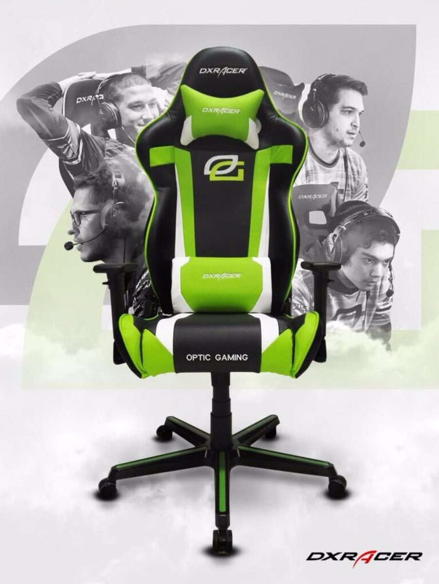 Friday giveaway!! RT and Follow for your chance to win an OpTic @DXRacer, 2 winners next Friday'ish.