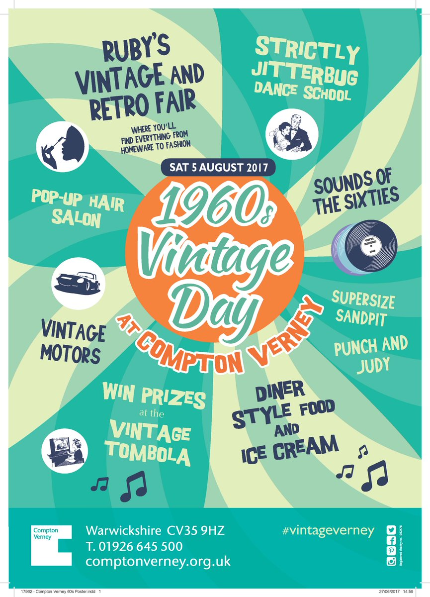 #vintageverney is TOMORROW!  Lots to see and do from 11am - 5pm #vintage #vintagefair  #rubys #rubysvintagefair #Rubys #1960s #summeroflove<br>http://pic.twitter.com/uC3OaWf8b0