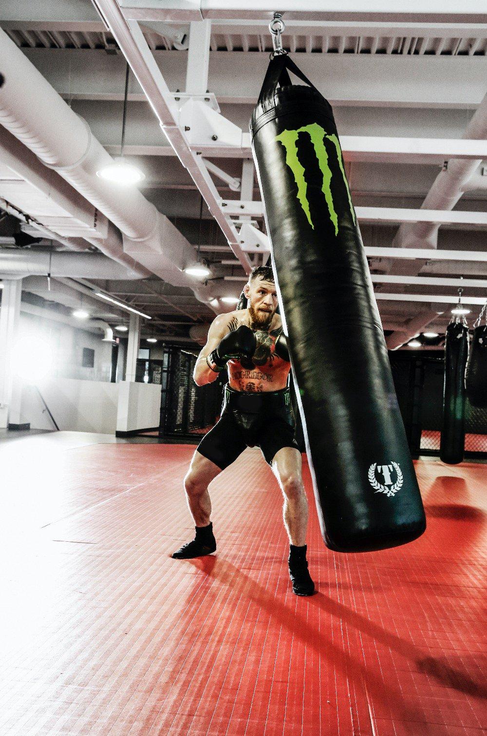 McGregor edzés közben