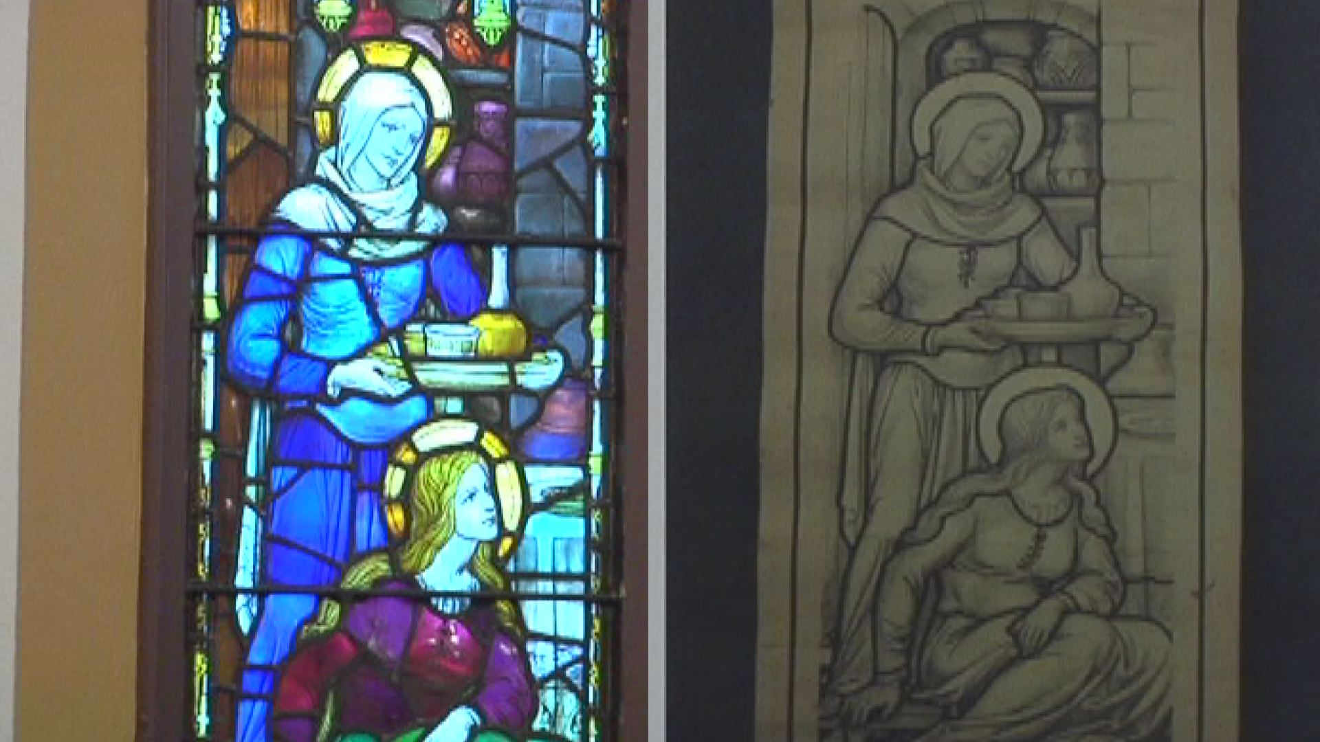 The #RakowLibrary goes to Binghamton! @NewsChannel34 spoke to @galbraithja1 about a local #Whitefriars window.  https://t.co/J9RHjY7IZg https://t.co/BV4MN7R1cA