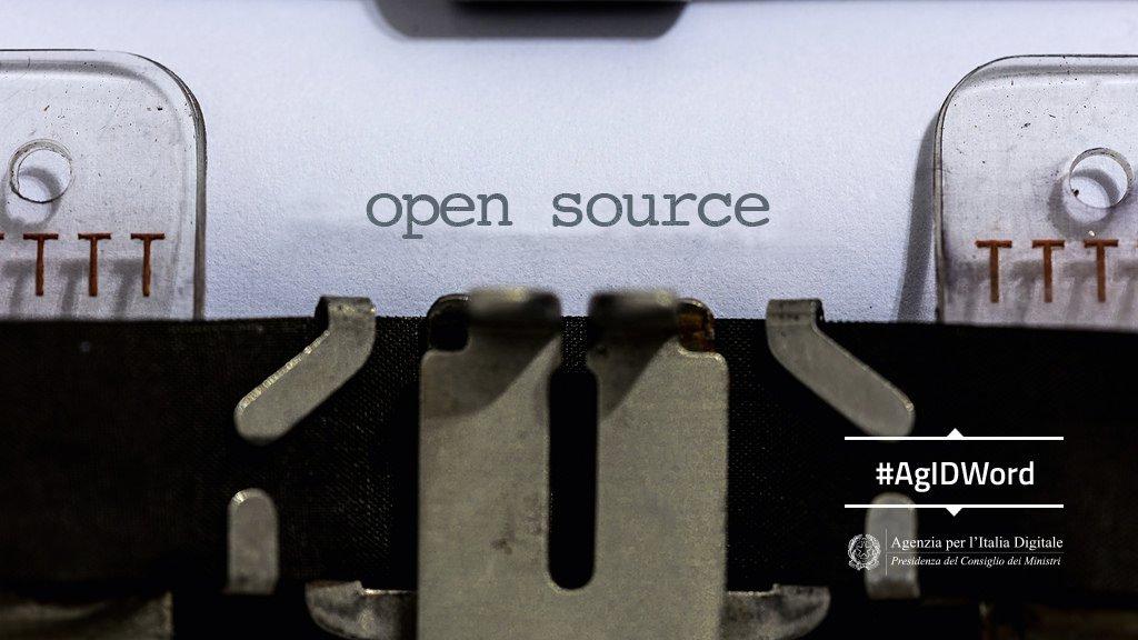 #AgIDWord   #OpenSource ➡️ si dice di so...