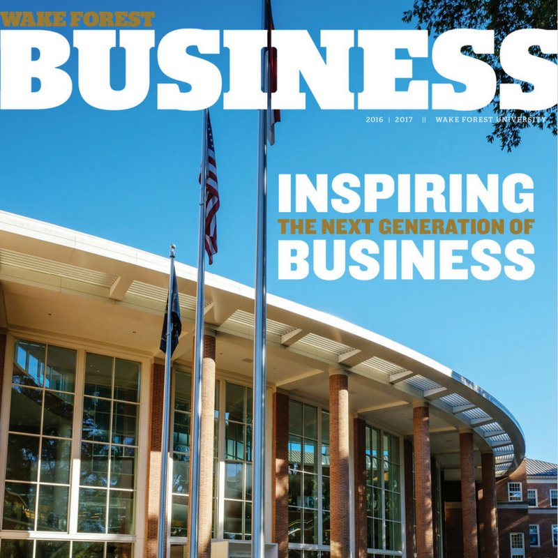The new @wakeforestbiz magazine is out! Read the digital edition: https://t.co/0J4z3OdWs6 #bizdeacs