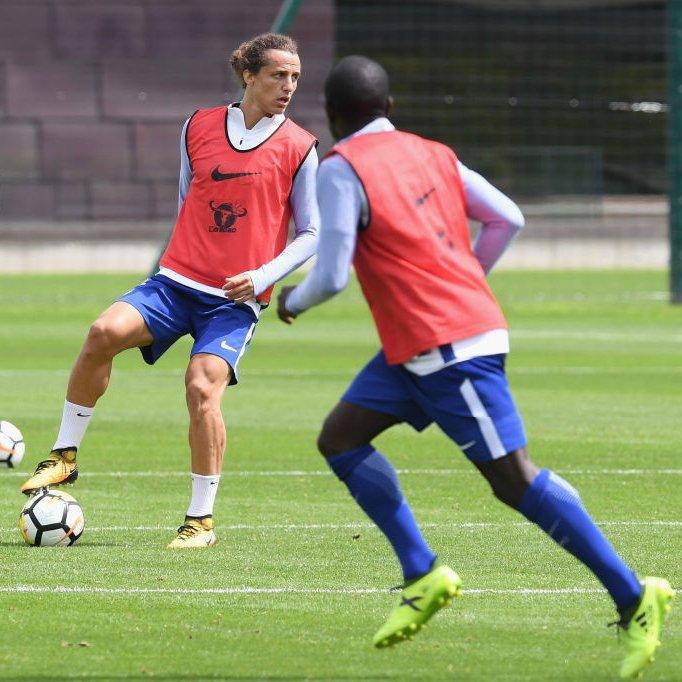 Good spirits in training this week! #Com...