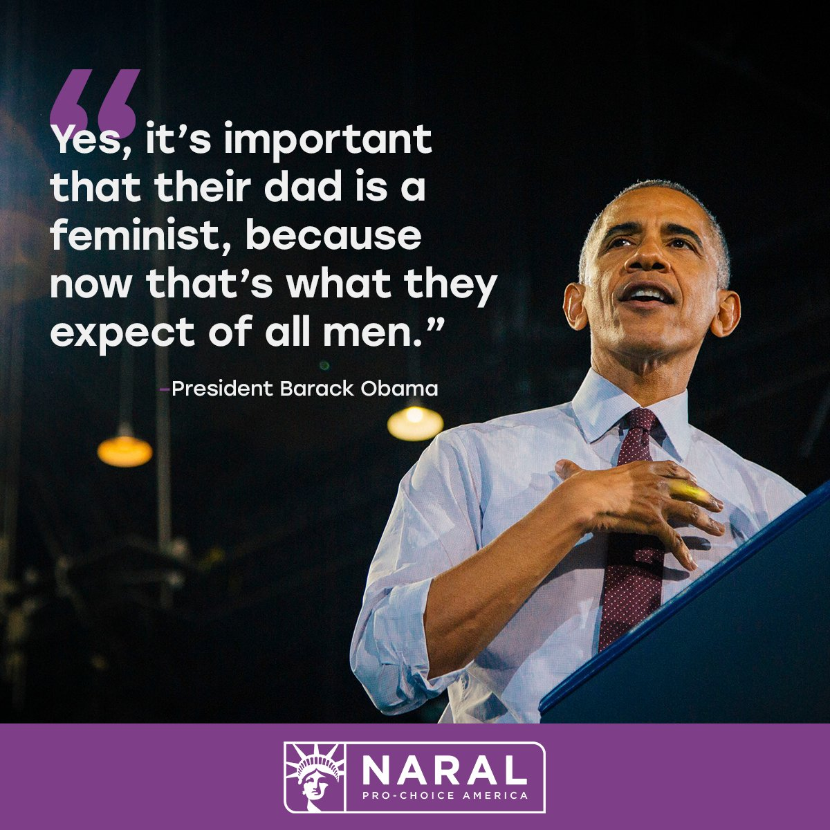 Barack Obama Quotes | Naral On Twitter Happy 56th Birthday President Obama An