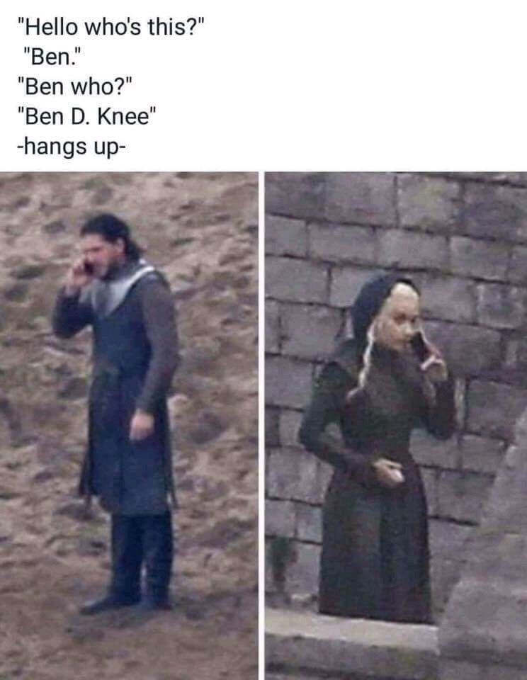 Y'all need to stop with these memes. #GameofThrones7 #gameofthrones https://t.co/g33ga3hIh6