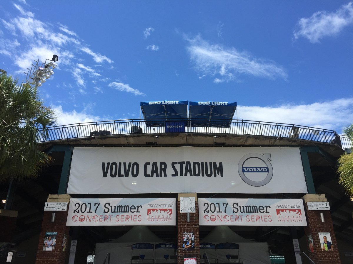 Volvo Car Stadium On Twitter Here Comes Sunshine Blue Skies