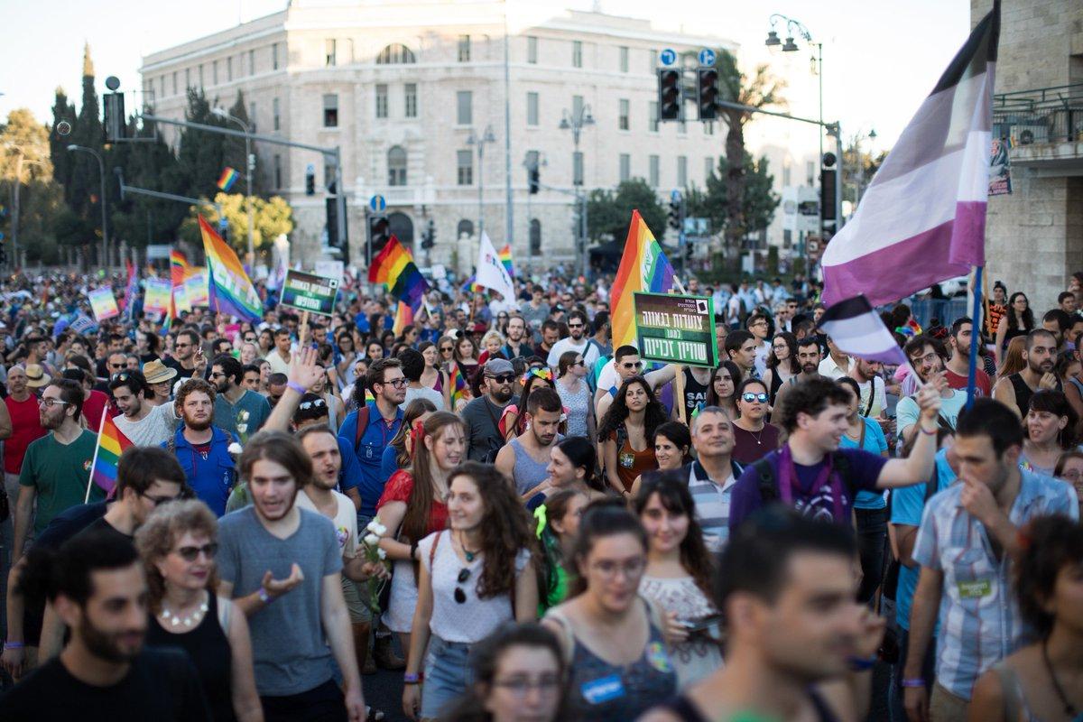 Gay pride parade jerusalem