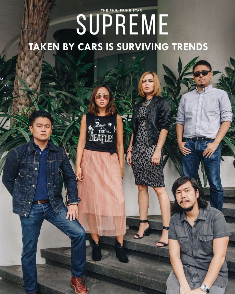 Taken By Cars will launch their third album 'Plagues' next month. Their new track will be available exclusively here at #philstarsupreme!