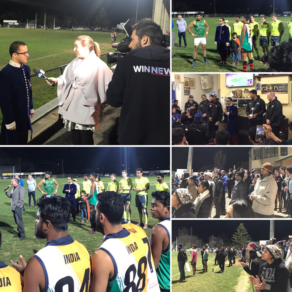 Wonderful game of @AFL @AFLIntCup at Wade St Oval in @GreaterBendigo #INDvPAK @AFLIndia @afldiversity @aflvic - #ThankYou GSNFC committee<br>http://pic.twitter.com/n0Jqhudynm