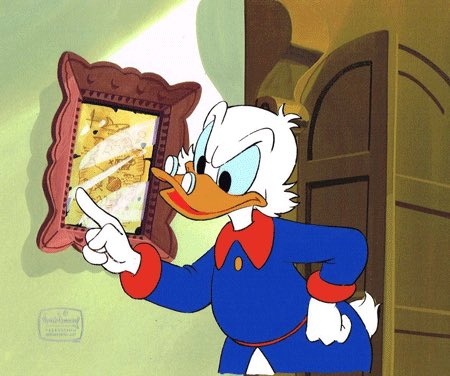 Tonight is #Ducktales Eve. If you leave out milk and cookies, Scrooge McDuck will come down your chimney and scold you for being wasteful. <br>http://pic.twitter.com/rbSpegh6mA
