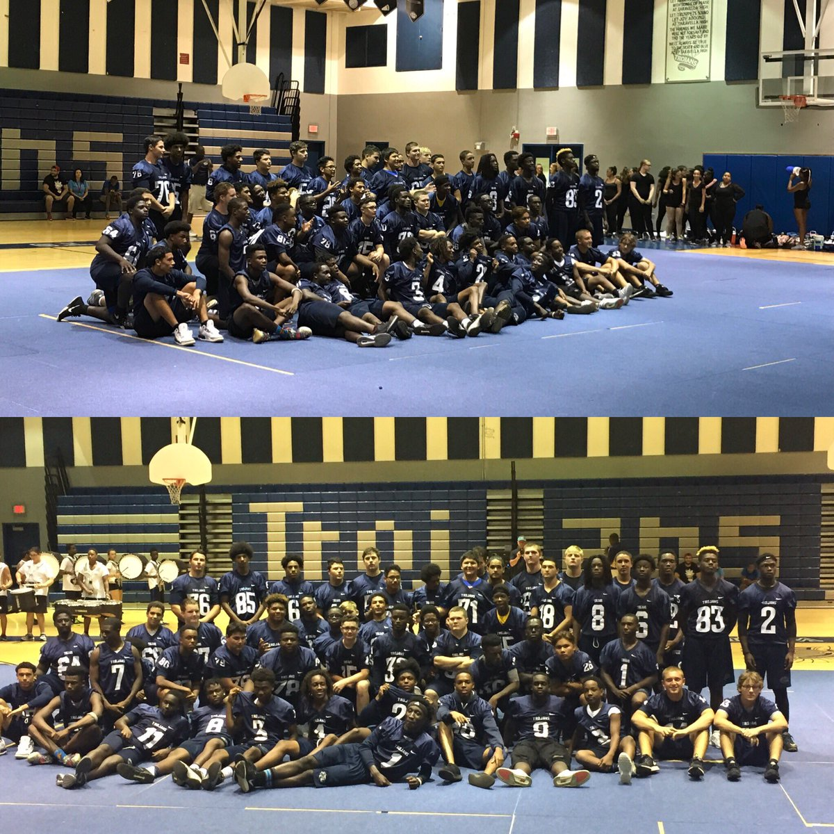 Meet the Trojans Night was a success. Thanks to the JPT Percussion section and color guard! #TrojanNation #EARN #1JPT <br>http://pic.twitter.com/Q5ObSDLyLy