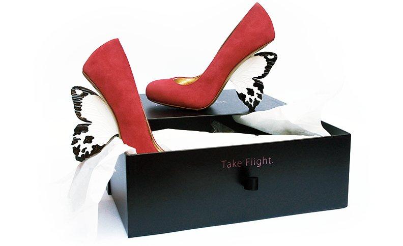 (´-`).。oO(アルベル・ガルディアーニのFlutterby Shoe)