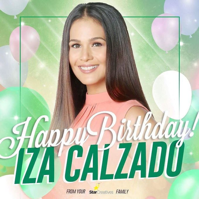 Happy happy birthday to Ms. Iza Calzado!