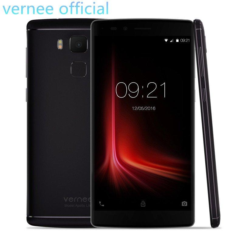 vernee Apollo Lite Smartphone Android 6.0 MT6797 Deca-Core 5.5 Inch 16MP Cam...