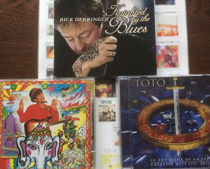 happy birthday. Rick Derringer &   & David Hungate &     .death anniversary. George Duke & Jeff Porcaro