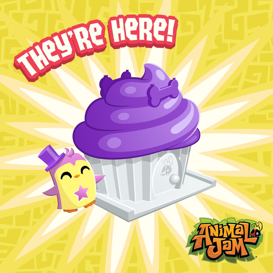 Animal Jam On Twitter New Adopt A Pet Cupcake Toys Have Arrived At