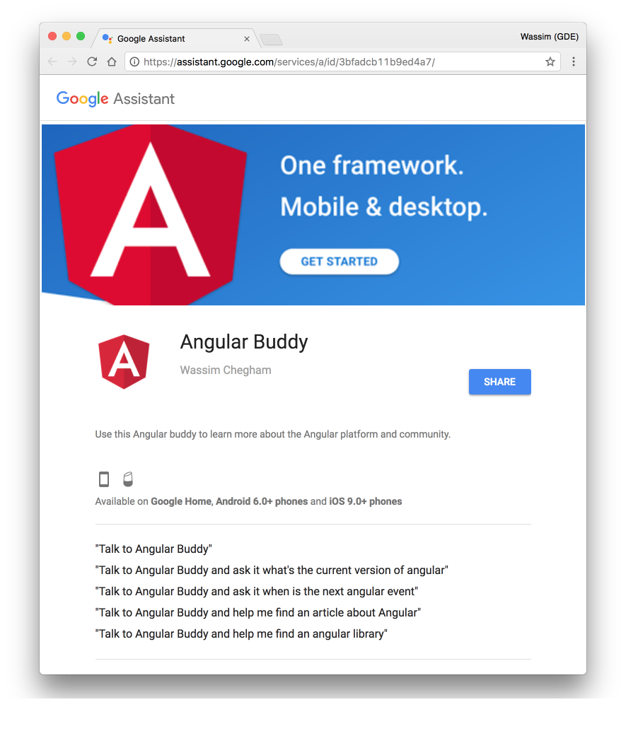 angular current version