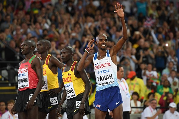The great man does it yet again!! Gold for @Mo_Farah #REPRESENT #London2017