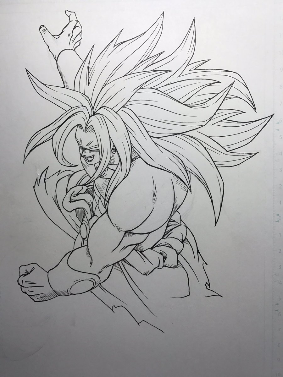 Dragon Ball Super On Twitter Toyotaro Dessine Broly God