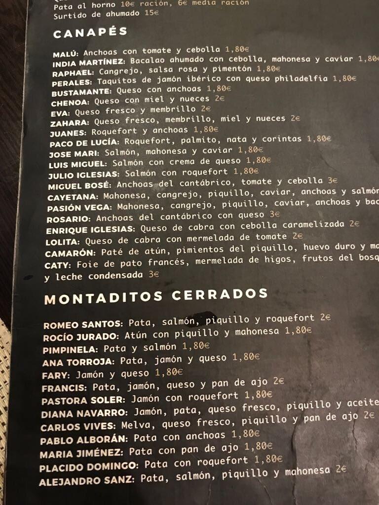 En un nuevo Bar de La Línea de la Concepción (Cádiz) encontramos un montadito de @pabloalboran