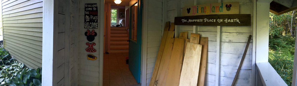 Porch looking in video