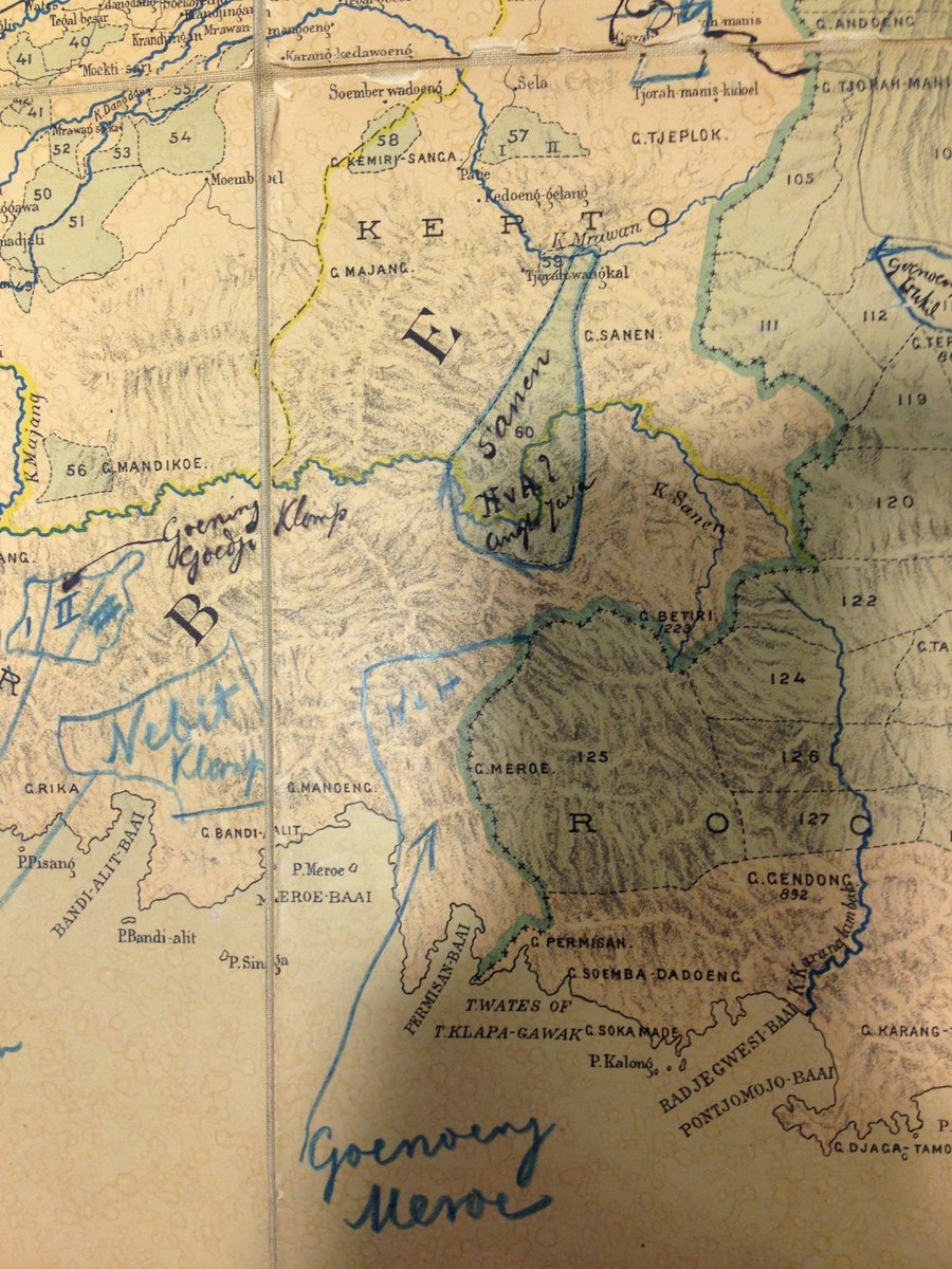 DaendelsCurrency on Twitter Netherlands Indies Map of East Java