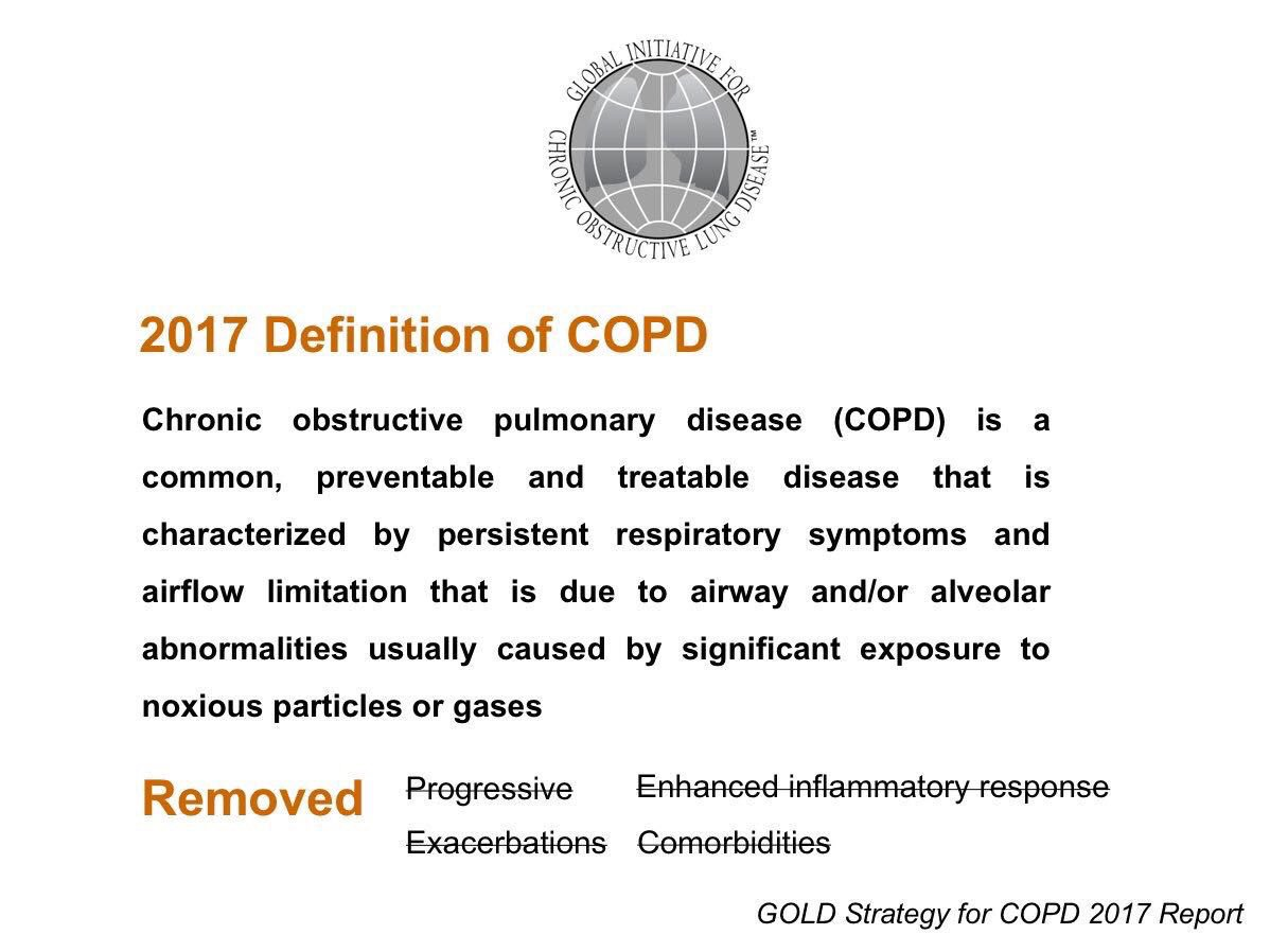 Global definition of COPD ..  #psmchs #uod #COPD #inayacollege #Respiratory_therapy #respiratory_care #RC #respiratorytherapists<br>http://pic.twitter.com/WH3lbGkGP5