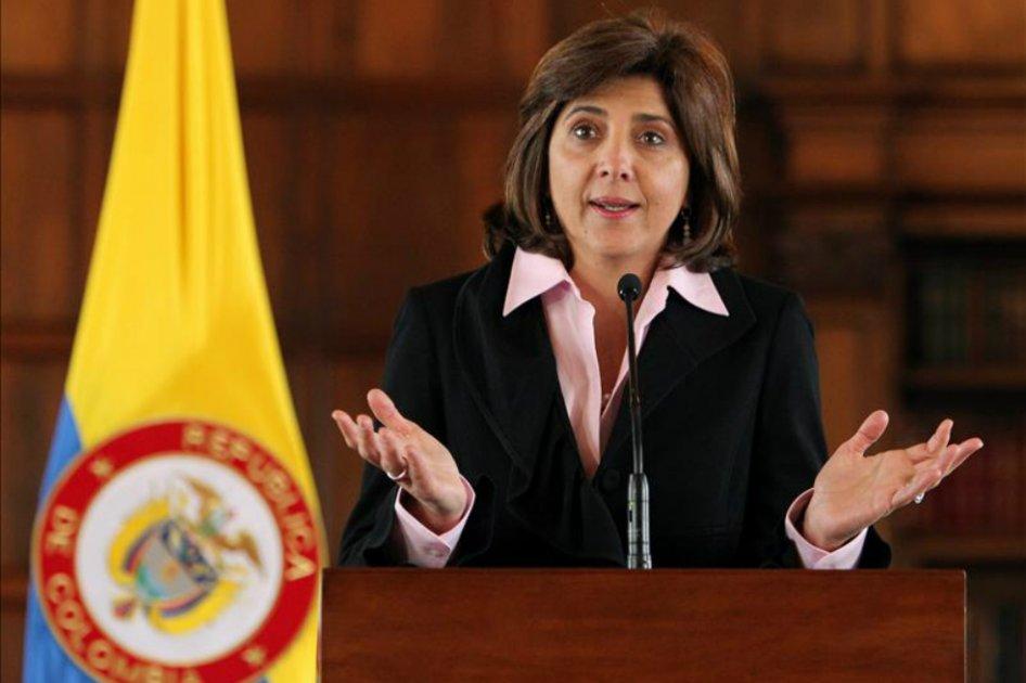 Resultado de imagen para Canciller de Colombia