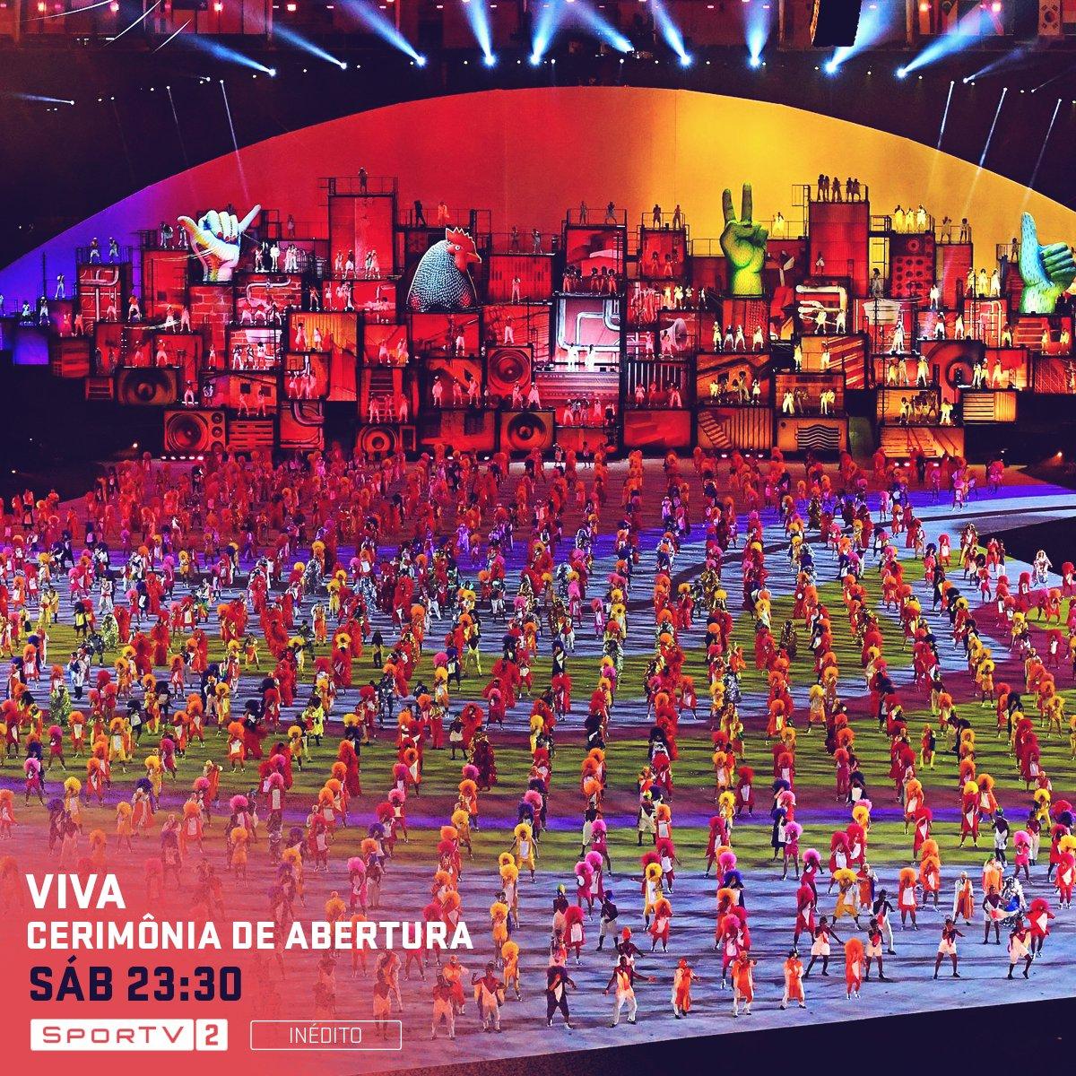 Documentário 'Viva', realizado pelo COI com os bastidores da Cerimônia de Abertura, será transmitido às 23:30, no SporTV2! #1anoJogosRio2016