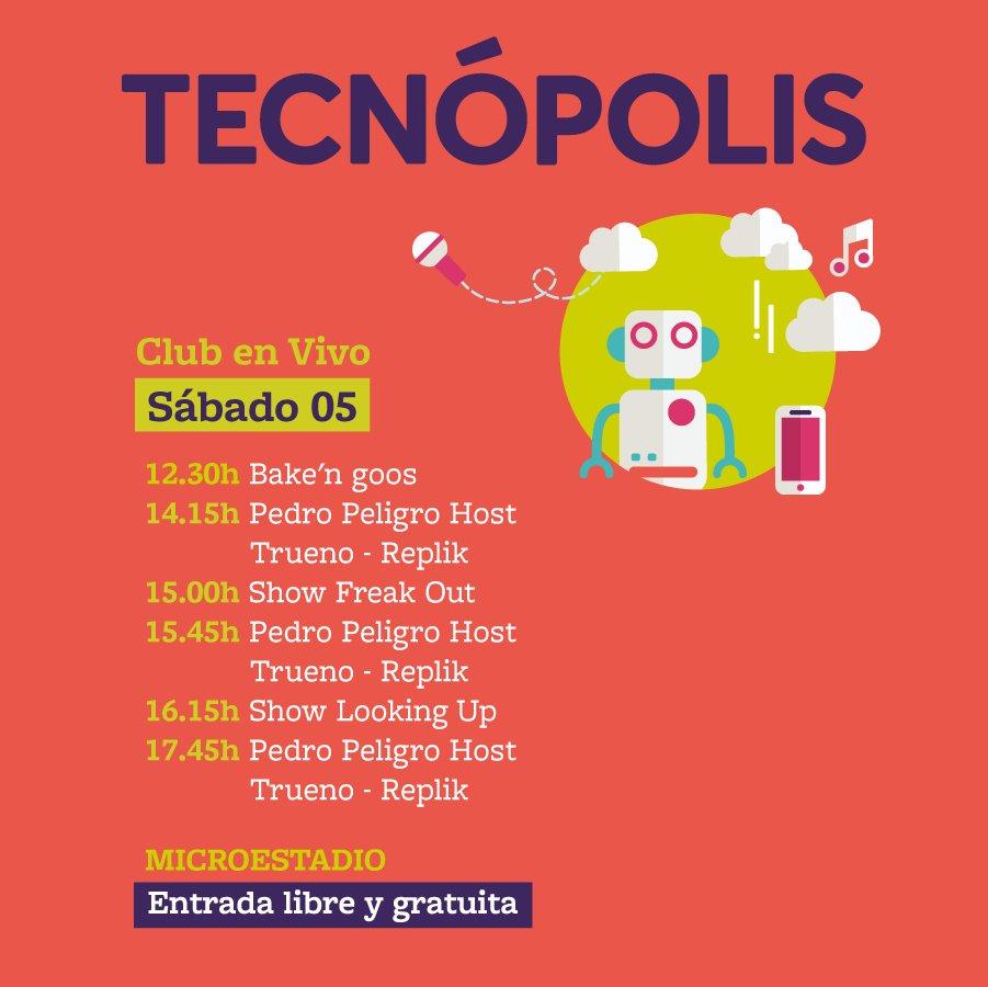 Mañana nos vemos en @TecnopolisNC a las...