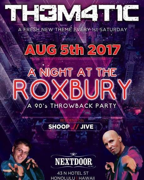 Pick up lines from night at the roxbury