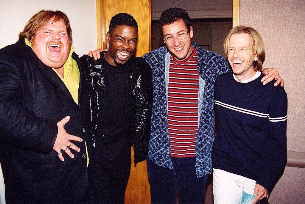 "@DavidSpade Good times, huh? What a crew. Best of the nineties. Never will forget ""in a van down by the river."" #SNL https://t.co/gsQX2W1fZG"