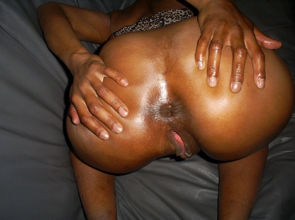 Ebony asshole